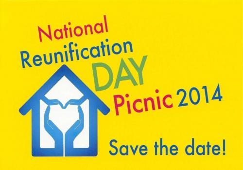 National Reunification Day Picnic 2014, Save the Date